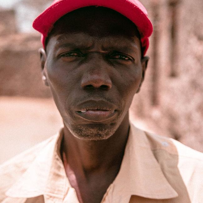 Gambian man