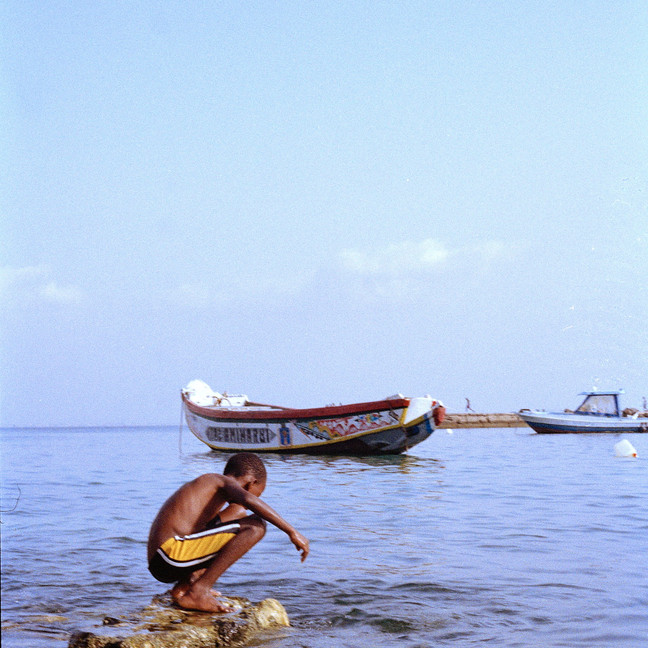 Boy at Goree Island