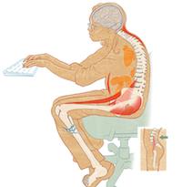 Vous avez mal au dos en fin de journée ?