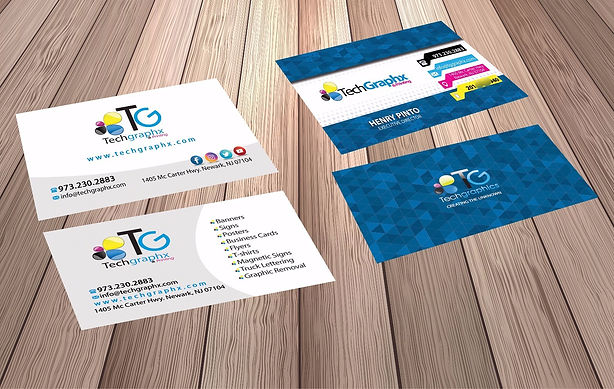 Techgraphx printing business cards reheart Choice Image