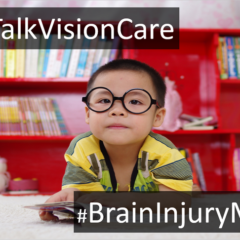 Brain damage, vision loss, and children: What you can do, what to watch for, & how to improve vision