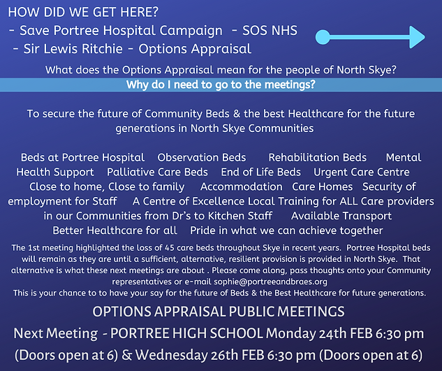 HOW DID WE GET HERE_ Save Portree Hospit