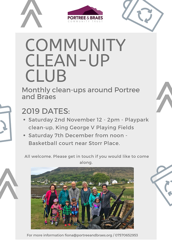 Clean Up Club 2019 Poster 21.10.19 PNG.p