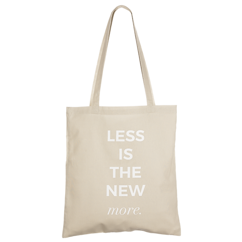 LESS IS THE NEW MORE - taupe