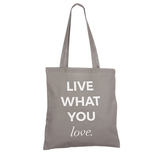 LIVE WHAT YOU LOVE - anthracite