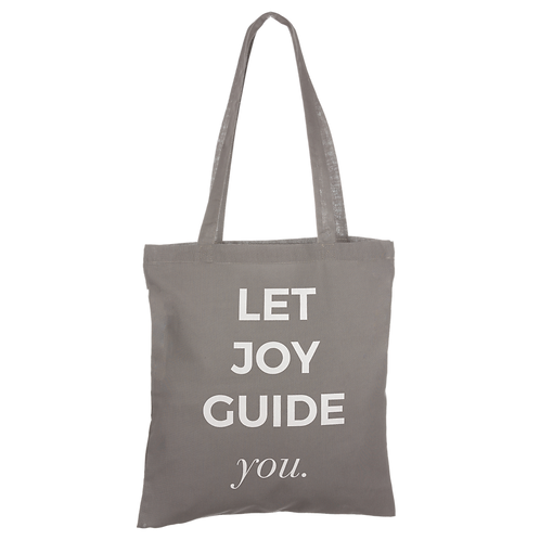 LET JOY GUIDE YOU - anthracite