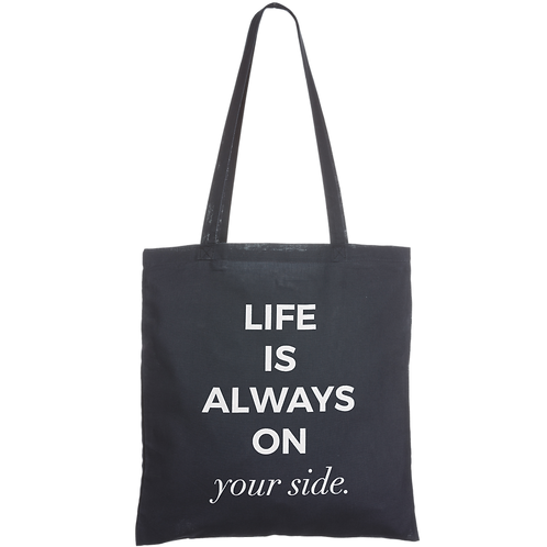 LIFE IS ALWAYS ON YOUR SIDE - navy