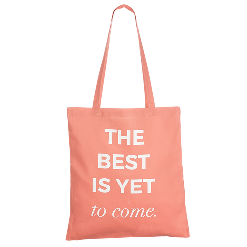 THE BEST IS YET TO COME - coral