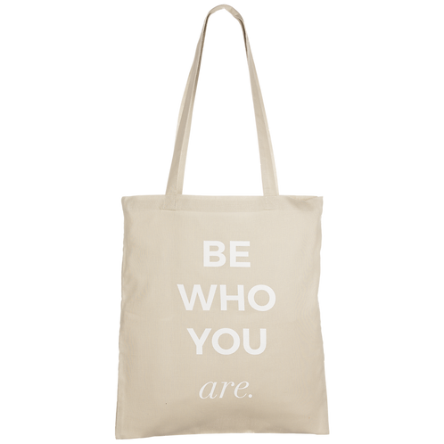 BE WHO YOU ARE - taupe