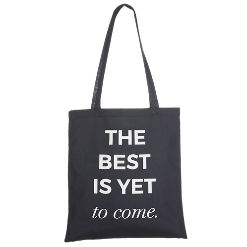BEST IS YET TO COME - navy