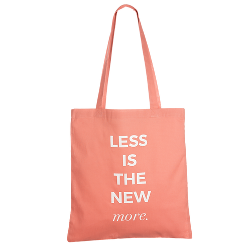 LESS IS THE NEW MORE - coral