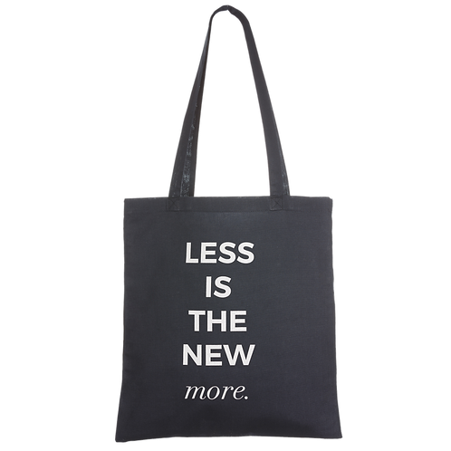 LESS IS THE NEW MORE - navy