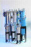 DHA Filter carries bag vessels to fit any sized application:   Single, Duplex, Multi-Round and Manifolds Carbon steel, stainless steel or polypropylene construction Single vessels fit applications under 50 gpm up to 220 gpm