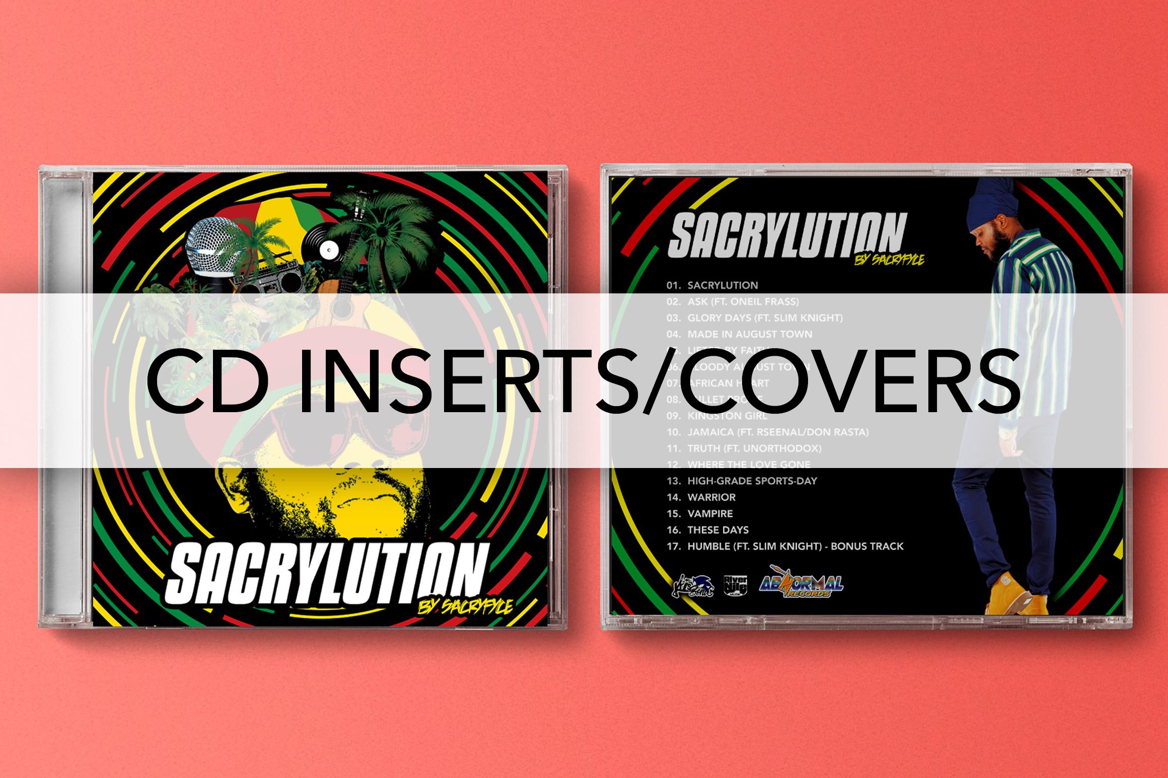 NYO CD COVER DESIGNS