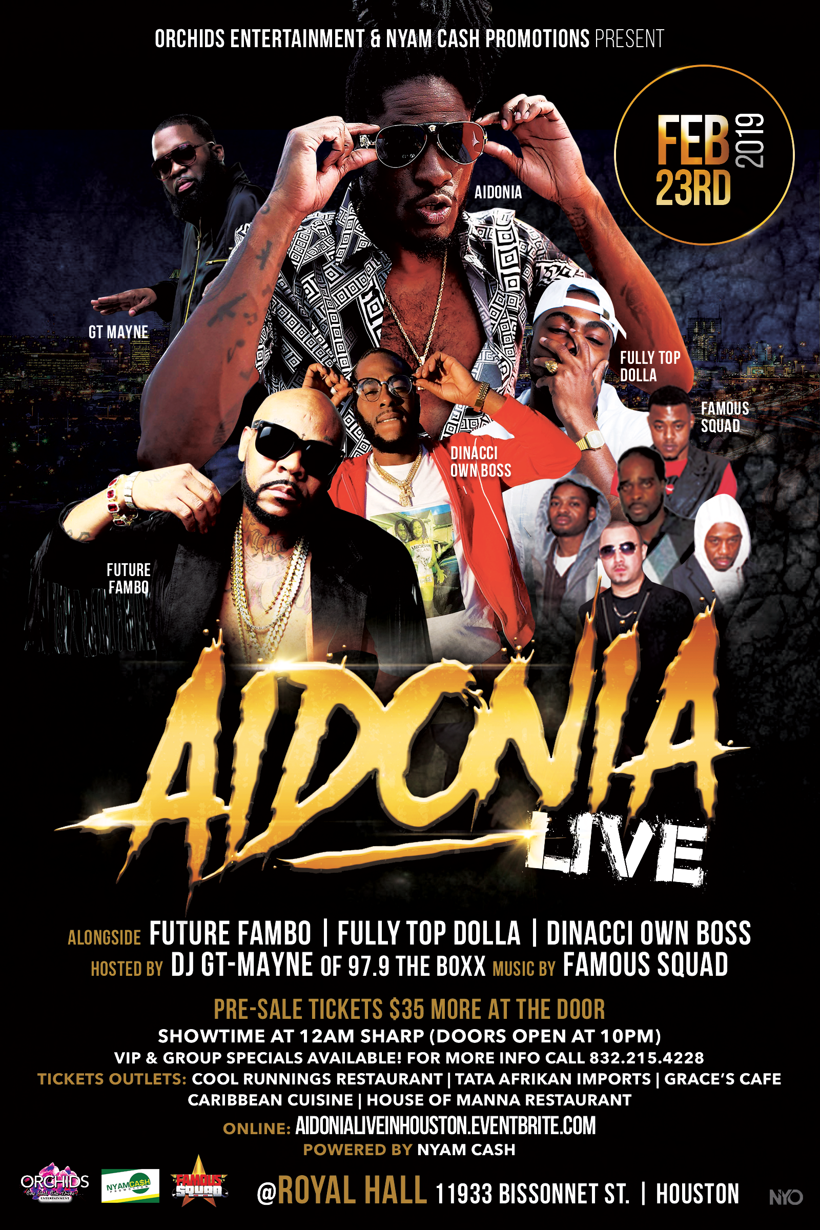Aidonia-Flyer