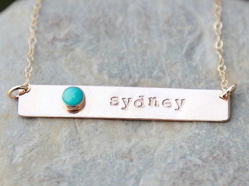 Gold Custom Keepsake Necklace