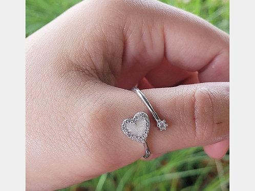 Heart Twist Ring