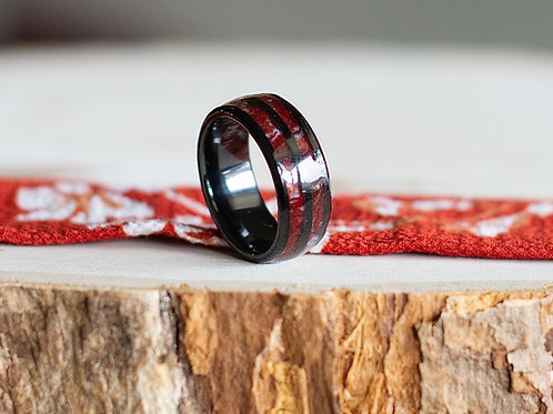 Men's Double Channel Ring