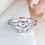 Thumbnail: Double Emerald Cut Ring
