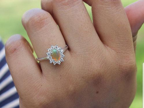 Sun halo ring