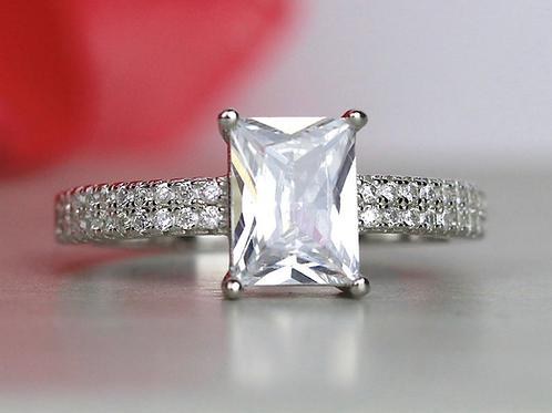 Double Row Minimalist Ring