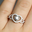 Thumbnail: Double Love Ring
