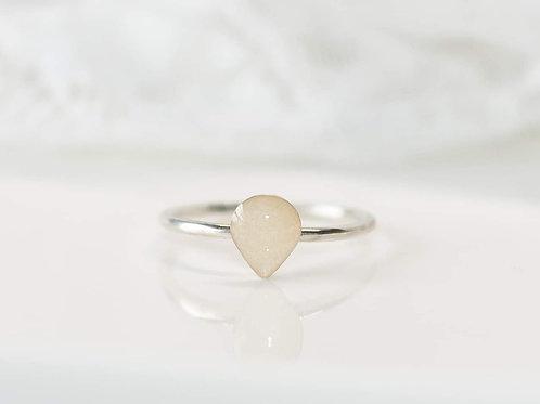 Dainty Pear Ring