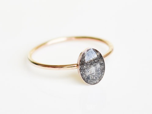 Gold Filled Oval Ring