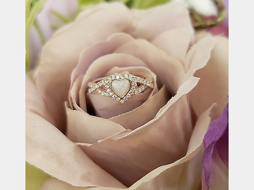 The Heart inifinty ring