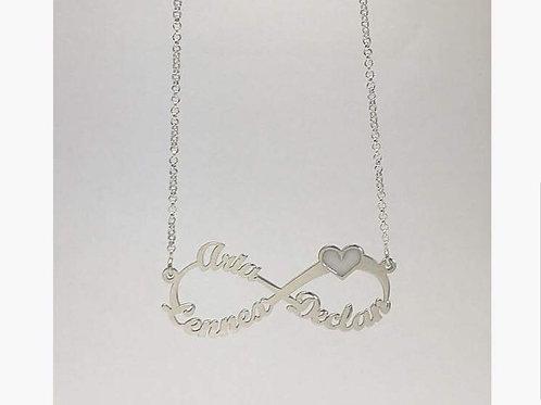 Infinity milkdrop name heart