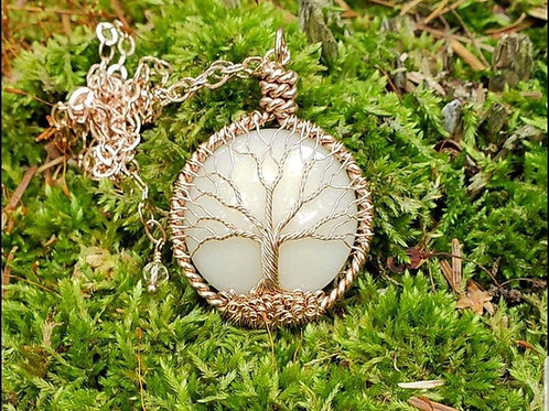 Tree Of Life Moon Necklace