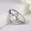 Thumbnail: Boho Floral Clover Ring