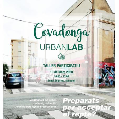 Propera sessió Covadonga Urban Lab - 10.03.20