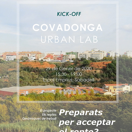 JORNADA KICK- OFF COVADONGA URBAN LAB / UCITYLABS