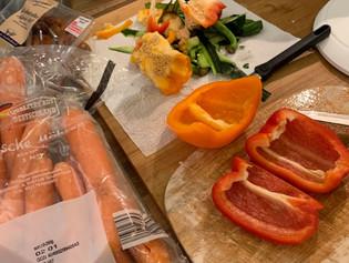Schnelle Gemüsepfanne