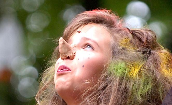 Hexennase aus der Maske der Freilichtbühne