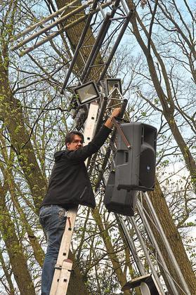 Technik an der Freilichtbühne