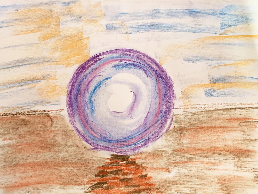 Kunsttherapie - Thema - stelle Dir ein Tor vor