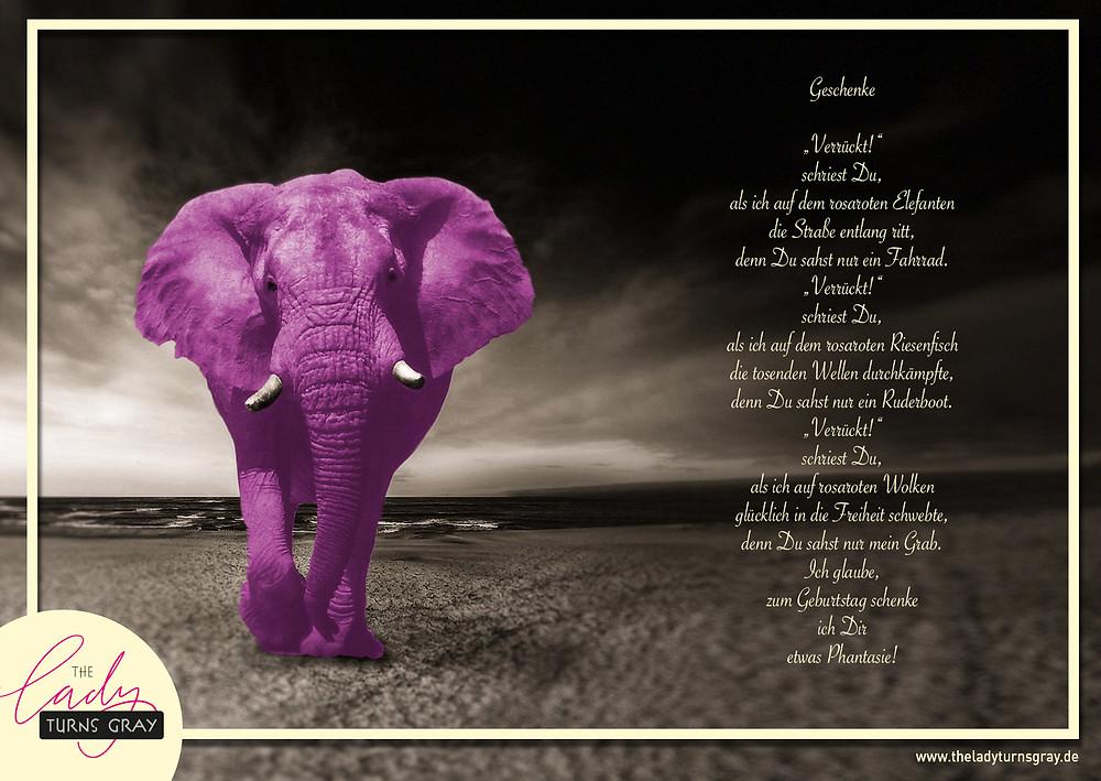 Ein Gedicht zur Phantasie auf dem Blog TheLadyturnsgray