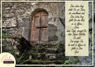 Die einzige Tür ...