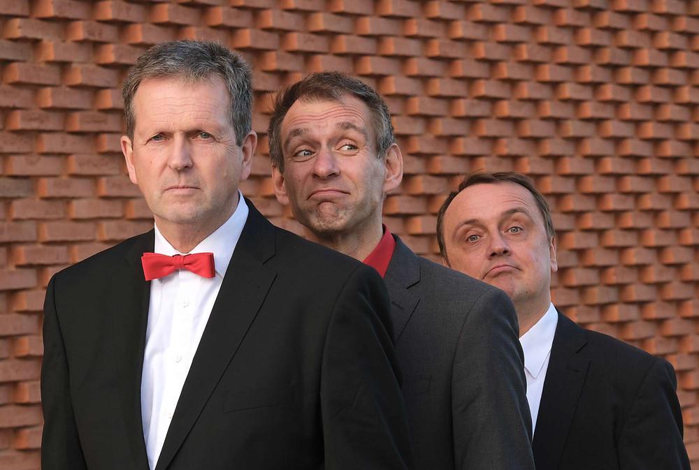 Harald Funke, Thomas Philipzen und Jochen Rüther