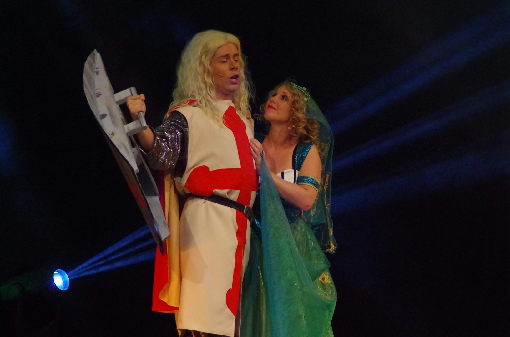 Ritter und Hofdame