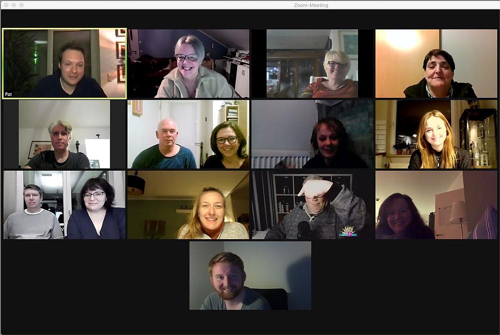 Vorstandssitzung der Freilichtbühne Reckenfeld als Zoom-Meeting
