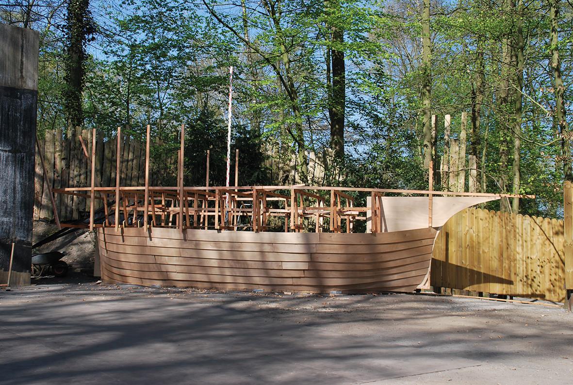 Piratenschiff aus dem Bühnenbau