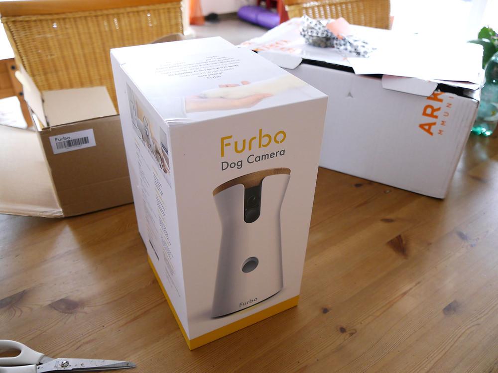 Hundekamera Furbo wird über App gesteuert