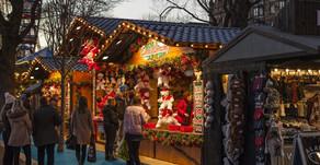 Hund und Weihnachtsmarkt?