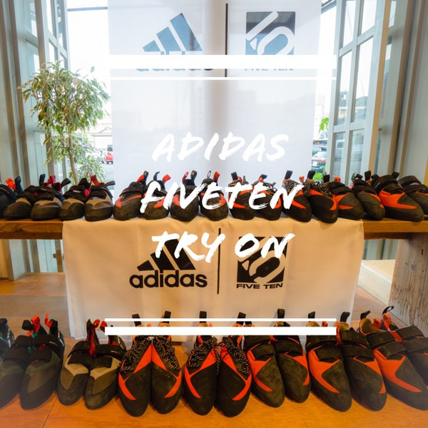 adidas FIVETEN アディダスファイブテン|試着試登会スタート