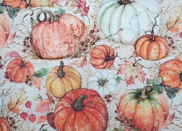 Harvest Pumpkins/Geo Orange