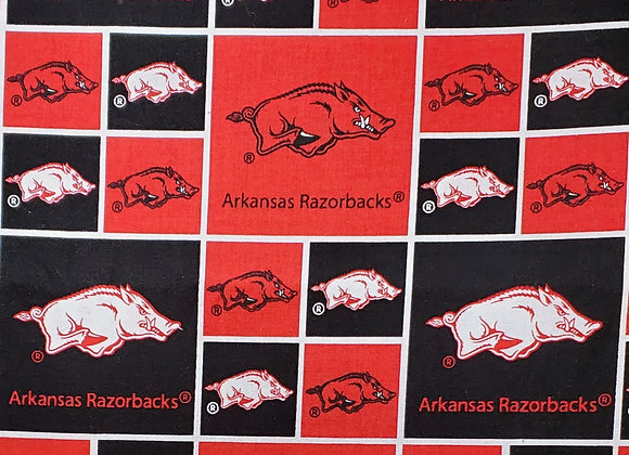 Razorback Block Print