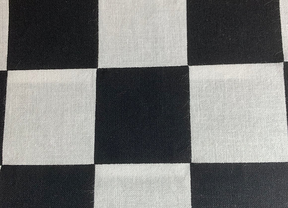 "Black and White 1"" Checks"